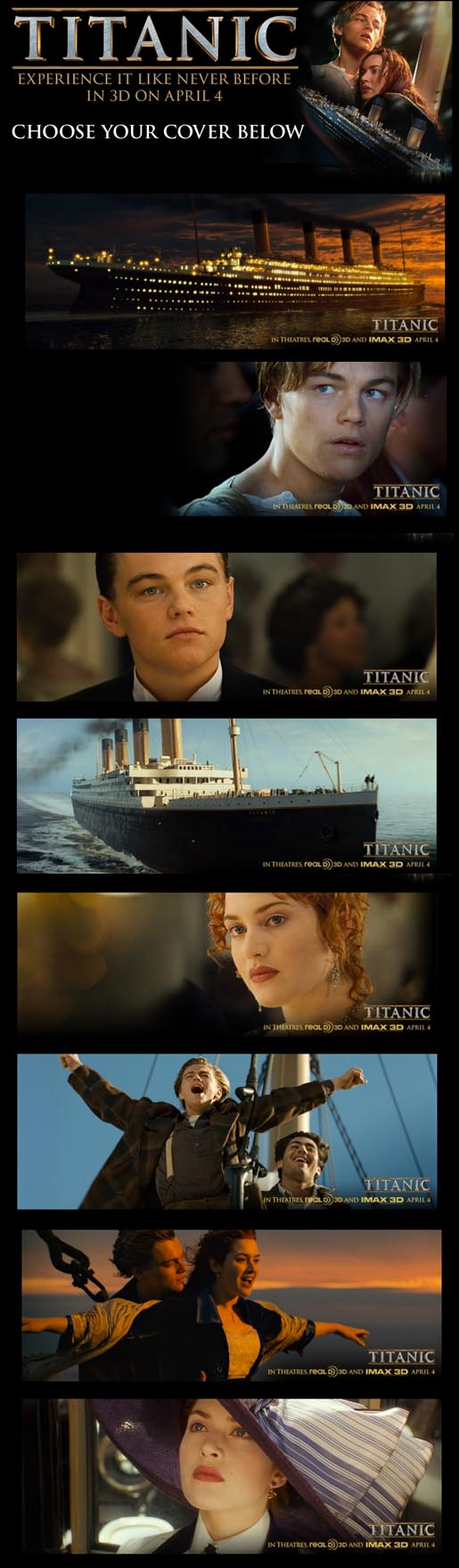 Titanic Facebook Timeline Covers