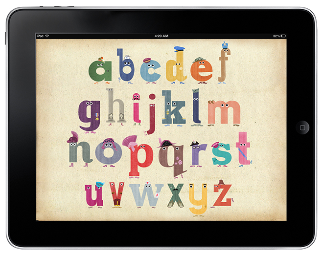Ministry of Letters iPad app