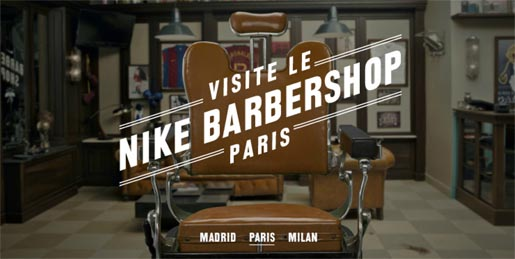 Nike Barbershop Paris