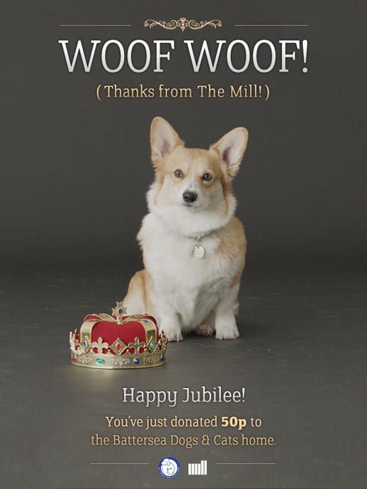 Mill Corgi Bill