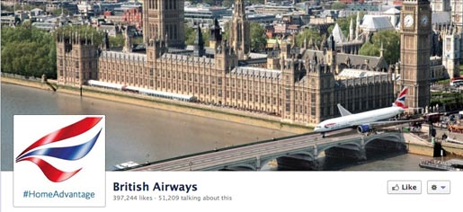 British Airways Home Advantage Facebook