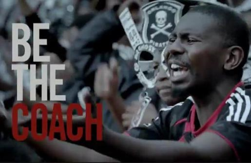 Carling Black Label Be The Coach