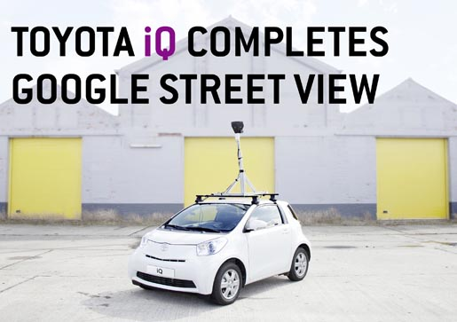 Toyota iQ Street View Geared Up