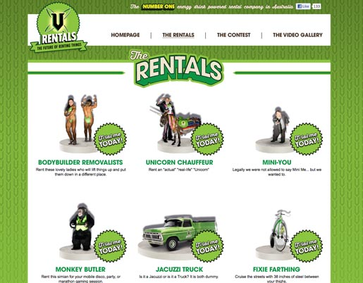 V Monkey Butler V Rental Site