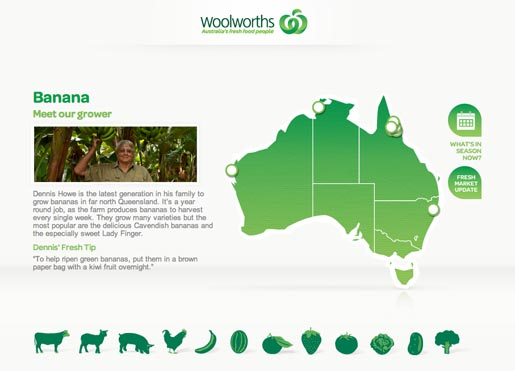 Woolworths Banana sources