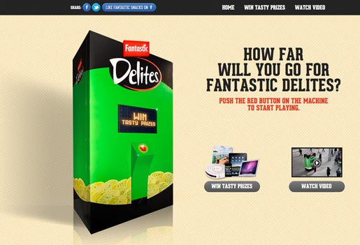 Fantastic Delites Machine site