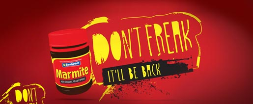 Marmite Don't Freak
