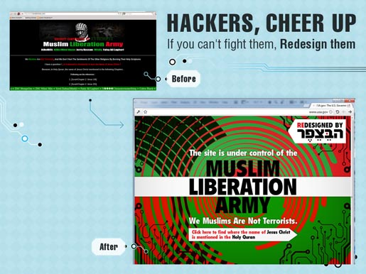 Hackers Muslim Liberation Army Hacker Redesign