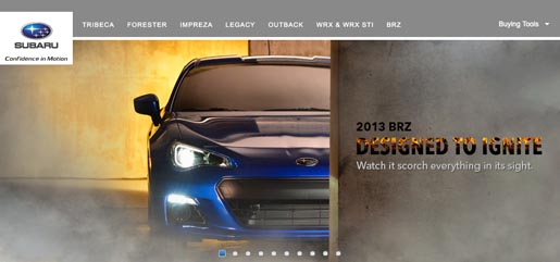 Subaru BRZ Designed to Ignite