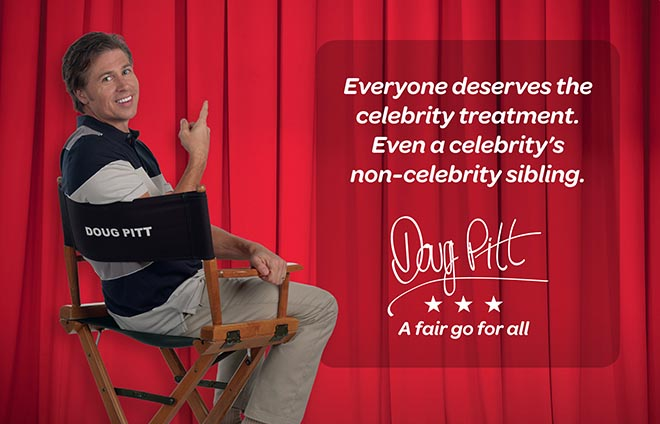 Virgin Mobile Doug Pitt Celebrity