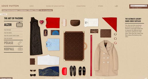 Louis Vuitton Art of Packing