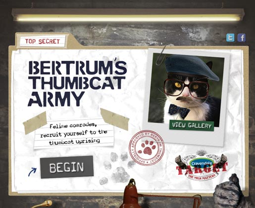 Bertrum's Thumbcat Army