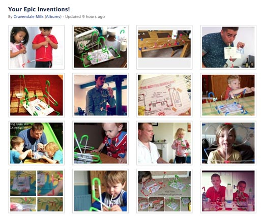 Cravendale Epic Straws Inventions