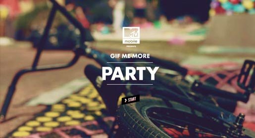 MTV Gif Me More Party Start
