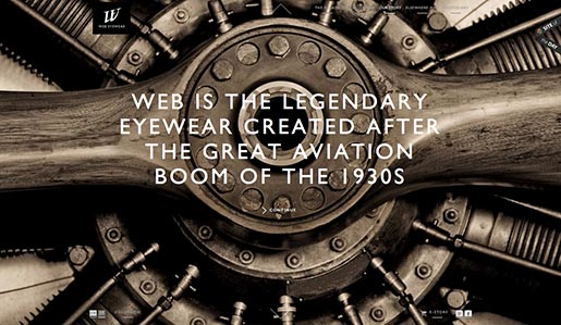 Web Eyewear Our Story - Aviation Boom