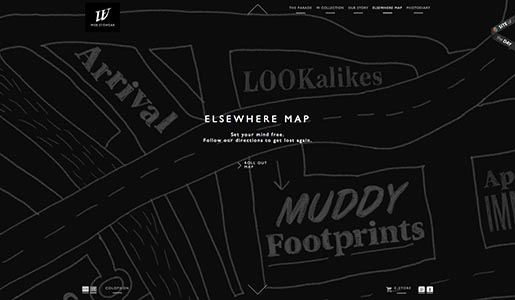 Web Eyewear Elsewhere Map