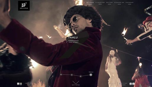 Web Eyewear Fahlu Experience the Story