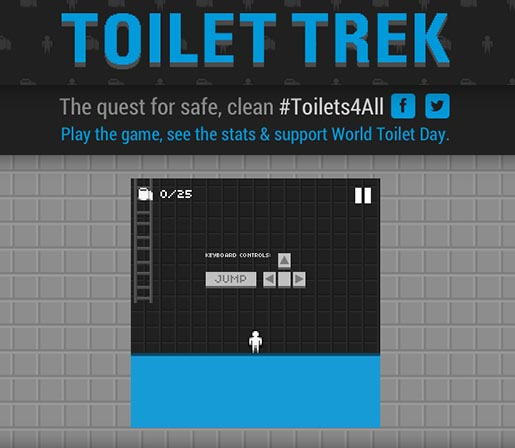 UNICEF Toilet Trek