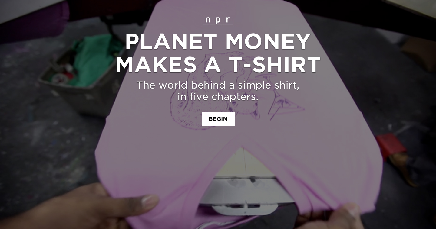 Planet money makes a t shirt the inspiration room for How to make money selling custom t shirts
