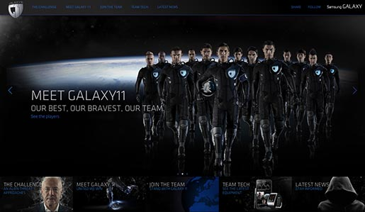 Samsung Galaxy 11 Team site