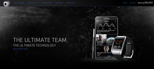 Samsung Galaxy 11 Team site - The Ultimate Team The Ultimate Technology