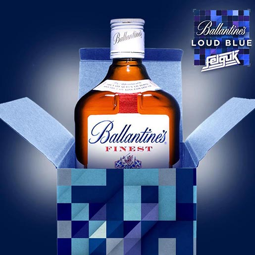 Ballantines Loud Blue app