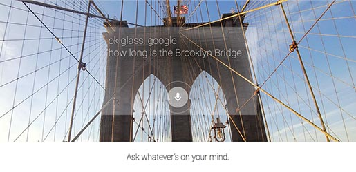 Google Glass Brooklyn Bridge