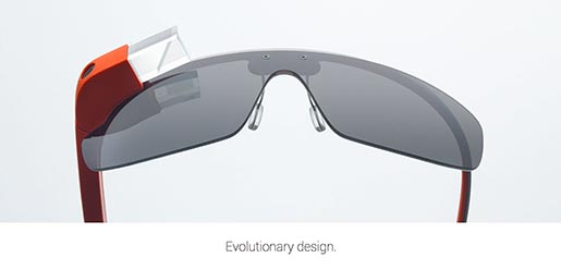 Google Glass Evolutionary Design
