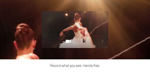 Google Glass Record What You See