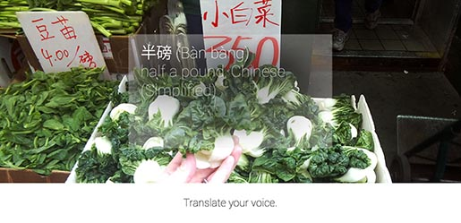 Google Glass Translate Your Voice