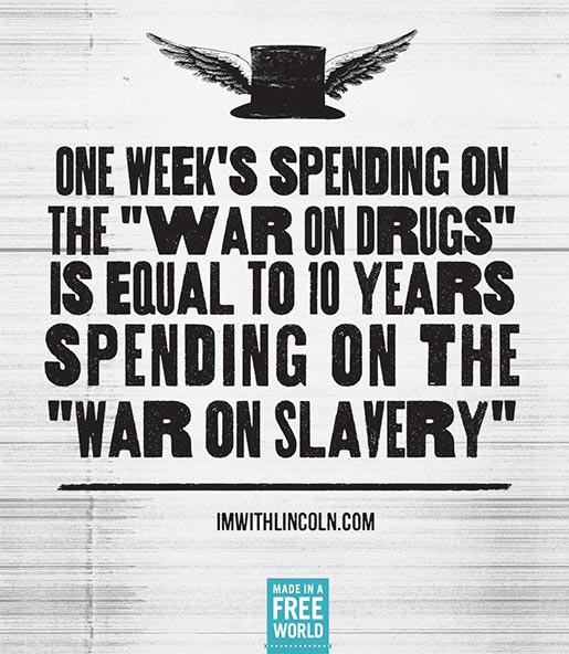 I'm With Lincoln War on Drugs