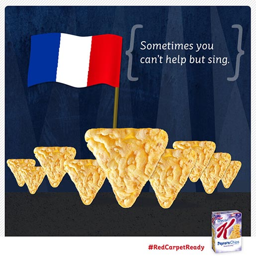 Special K French Flag
