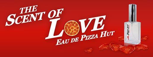 The Scent of Love Pizza Hut contest