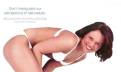 Dove Don't Manipulate Our Perceptions of Beauty