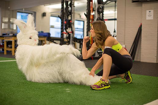 Easter Bunny Jillian Michaels