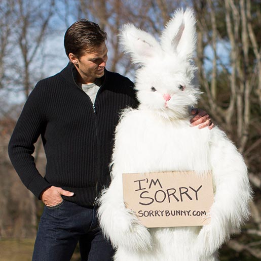Easter Bunny Tom Brady