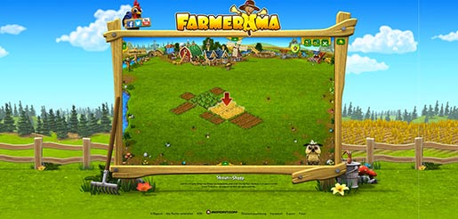 Farmerama normal site