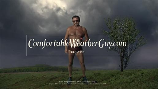Southern Comfort Comfortable Weather Guy