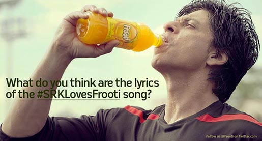 SRKLovesFrooti Song Lyrics