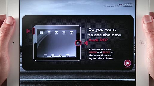 Audi R8e Screenshot