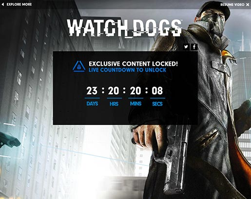 Playstation Greatness Awaits - Watchdog unlocked
