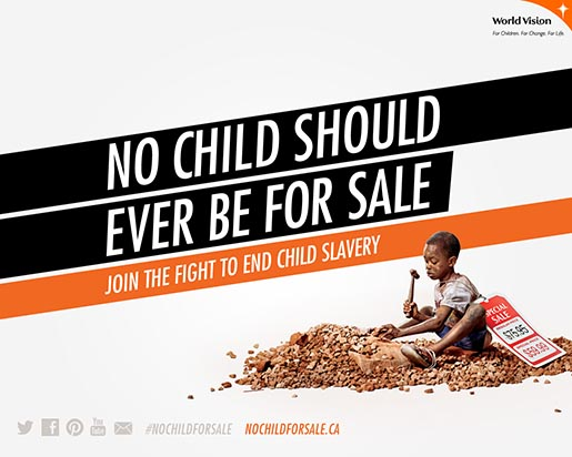 No Child For Sale Wallpaper