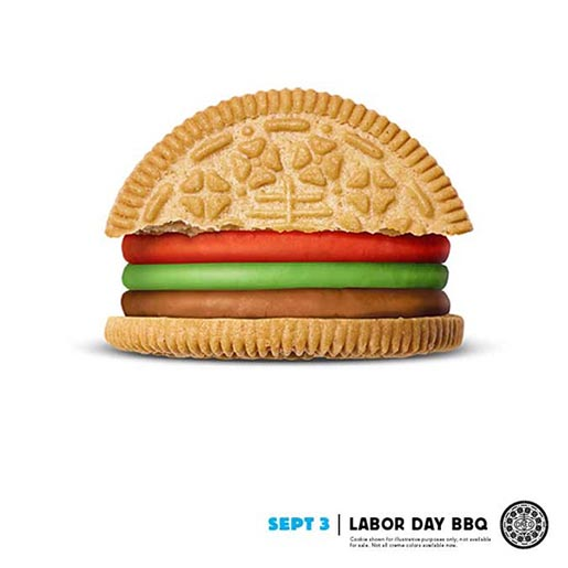 Oreo Daily Twist Labor Day BBQ