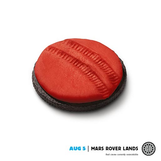 Oreo Daily Twist Mars Rover Lands