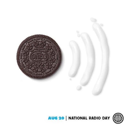 Oreo Daily Twist National Radio Day