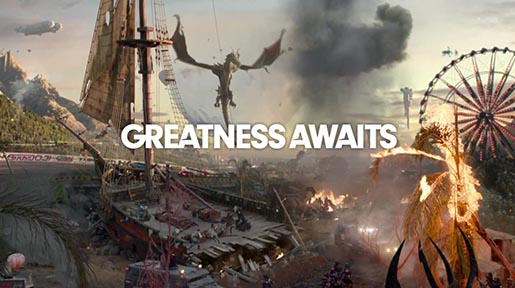 Playstation Greatness Awaits
