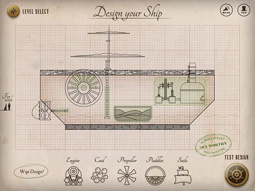 Full Steam Ahead Design Your Ship