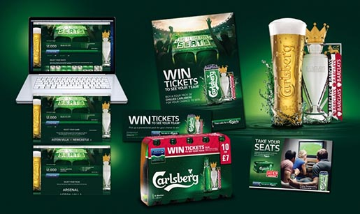 Carlsberg Time To Take Your Seats campaign