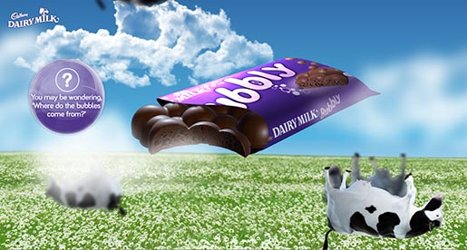 Cadbury Bubbly Cows Site