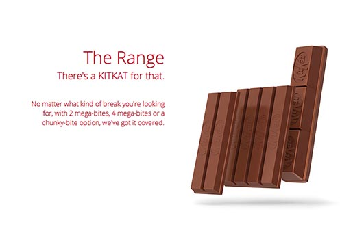 KitKat The Range